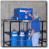 Fill natural gas cylinders with a G-TEC Refueler